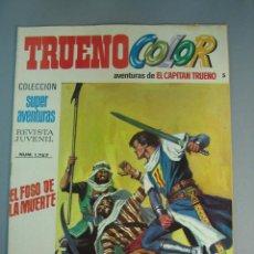 Tebeos: CAPITAN TRUENO, EL (1975, BRUGUERA) -TRUENO COLOR SEGUNDA EPOCA- 5 · 17-III-1975 · EL FOSO DE LA MUE. Lote 137870862