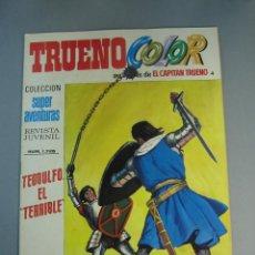 Tebeos: CAPITAN TRUENO, EL (1975, BRUGUERA) -TRUENO COLOR SEGUNDA EPOCA- 4 · 10-III-1975. Lote 137871054