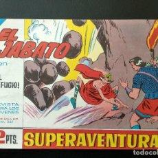 Tebeos: COMIC EL JABATO - EL REFUGIO - 1965. Lote 138001650