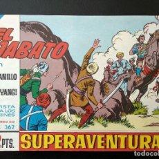 Tebeos: COMIC EL JABATO - EL ANILLO DE ALI YANG - 1965. Lote 138001678