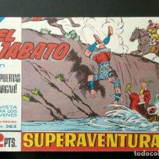 Tebeos: COMIC EL JABATO - LAS PUERTAS DE TARGAH - 1965. Lote 138001706