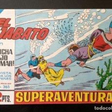 Tebeos: COMIC EL JABATO - LUCHA BAJO EL MAR - 1965. Lote 138001782