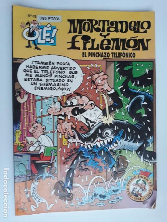 MORTADELO Y FILEMON EL PINCHAZO TELEFONICO. COLECCION OLE. BRUGUERA. W (Tebeos y Comics - Bruguera - Ole)