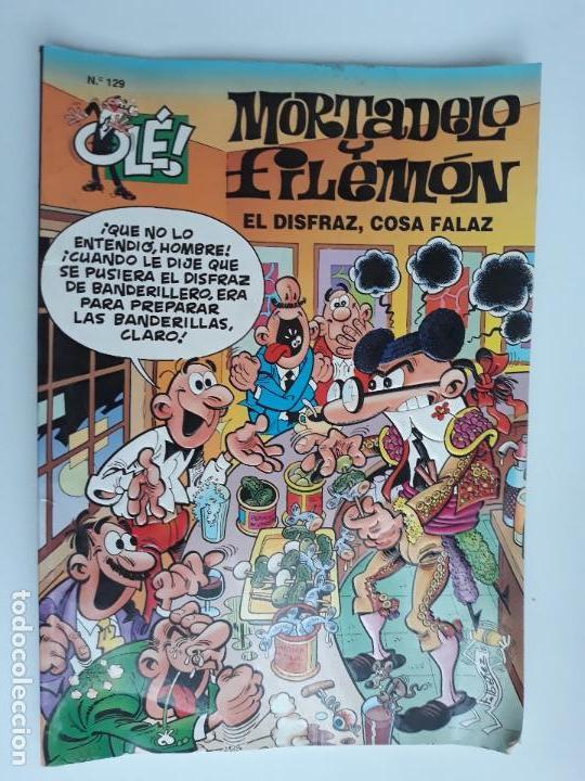 MORTADELO Y FILEMON EL DISFRAZ, COSA FALAZ. COLECCION OLE. BRUGUERA. W (Tebeos y Comics - Bruguera - Ole)