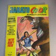 Tebeos: JABATO, EL (1974, BRUGUERA) -JABATO COLOR EXTRA SEGUNDA EPOCA- 15 · VI-1975 · JABATO COLOR. Lote 138274458