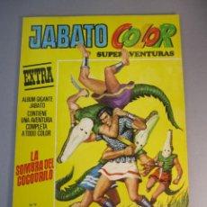 Tebeos: JABATO, EL (1978, BRUGUERA) -JABATO COLOR EXTRA TERCERA EPOCA- 9 · 24-VII-1978 · LA SOMBRA DEL COCOD. Lote 138280818