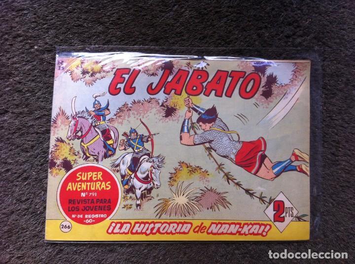 CÓMIC (EL JABATO) ED. BRUGUERA, 1963. Nº 266 (Tebeos y Comics - Bruguera - Jabato)