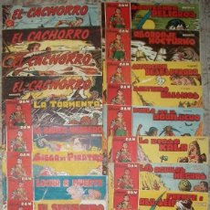 Tebeos: EL CACHORRO (BRUGUERA) (LOTE DE 25 NUMEROS). Lote 138630974