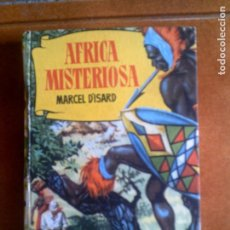 Tebeos: LIBRO DE HISTORIAS SELECCION AFRICA MISTERIOSA DE BRUGUERA AÑO ,1958. Lote 138756038
