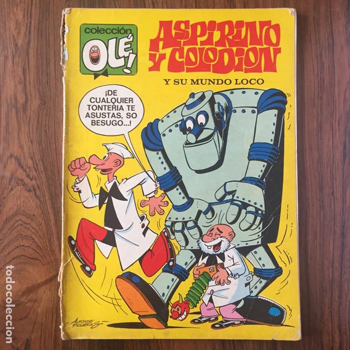 ASPIRINO Y COLODION, Y SU MUNDO LOCO - OLÉ 51, PRIMERA EDICIÓN (BRUGUERA, 1971) ENVÍO GRATIS (Tebeos y Comics - Bruguera - Ole)