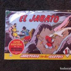 Tebeos: CÓMIC (EL JABATO) ED. BRUGUERA, 1963. Nº 237. Lote 138828206