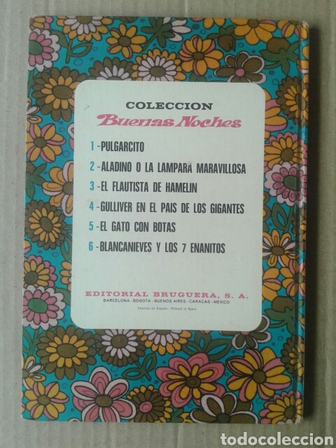 Tebeos: El Flautista de Hamelín / Colección Buenas Noches n°3 (Bruguera, 1971). 48 páginas en color. - Foto 2 - 138843069