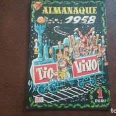 Tebeos: TIO VIVO. ALMANAQUE 1958. Lote 138891670