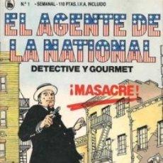 Tebeos: 10-AGENTE LA NATIONAL-BRUGUERA 1-2-3-4-5-6-7-8-9-10-11-SCHIAFFINO/SAMPAYO-PEREZ CAMACHO-1986-NUEVOS. Lote 30352150