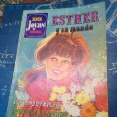 Tebeos: SUPER JOYAS FEMENINAS ESTHER Y SU MUNDO. Lote 138915497