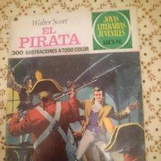 Tebeos: REVISTA - JOYAS LITERARIAS JUVENILES - EL PIRATA - 300 ILUSTRACIONES A TODO COLOR --REFM3E3. Lote 138917802