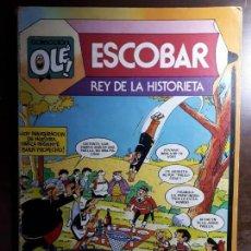 Tebeos: ESCOBAR. REY DE LA HISTORIETA - COLECCIÓN OLÉ Nº 295 - EDITORIAL BRUGUERA - 1984. Lote 138964138