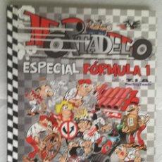 Tebeos: MORTADELO ESPECIAL FORMULA 1 - EDICIONES B, TAPA DURA. Lote 139009330