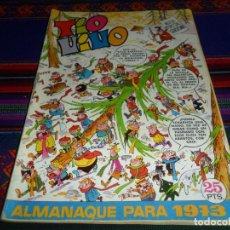 Tebeos: TIO VIVO ALMANAQUE 1973. BRUGUERA 25 PTS. BUEN ESTADO.. Lote 139084002