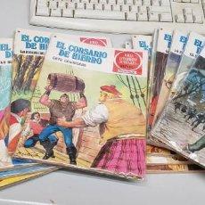 Tebeos: EL CORSARIO DE HIERRO ¡ COMPLETA 58 NUMEROS ! 1ª EDICION / BRUGUERA. Lote 139160518