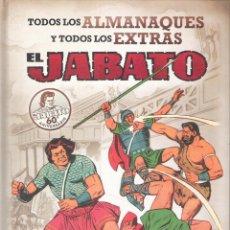 Tebeos: EL JABATO . TODOS LOS ALMANAQUES Y TODOS LOS EXTRAS . Lote 139219558