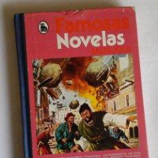 Tebeos: FAMOSAS NOVELAS. TOMO XIII. BRUGUERA. CON ADAPTACIONES A CÓMIC DE JULIO VERNE, SALGARI, KARL MAY ETC. Lote 139297586