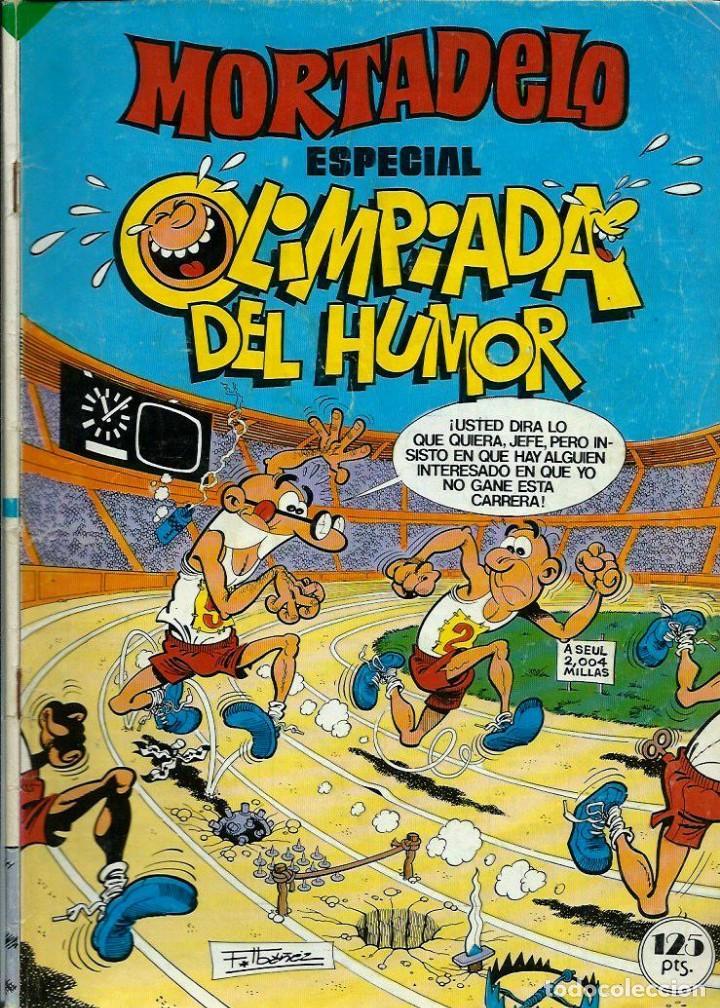 MORTADELO ESPECIAL Nº 181 - OLIMPIADA DEL HUMOR - BRUGUERA 1984 - EL DE LA FOTO (Tebeos y Comics - Bruguera - Mortadelo)