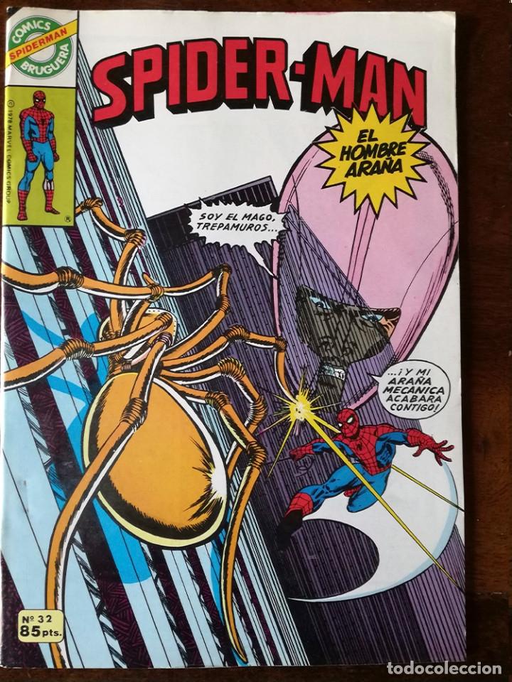 Tebeos: 20 Spider-Man Spiderman-Araña-20-21-23-26-29-30-31-32-34-37-38-40-47-50-53-55-56-65-69-70 Nuevo 1981 - Foto 16 - 54870084