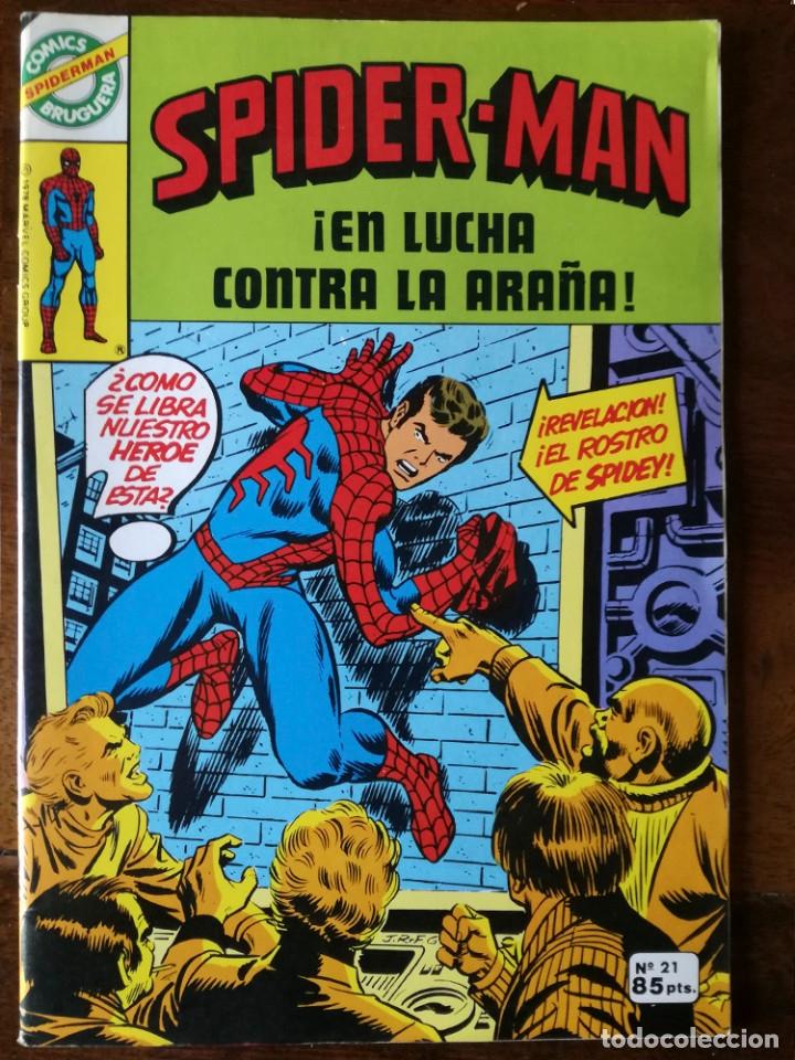Tebeos: 20 Spider-Man Spiderman-Araña-20-21-23-26-29-30-31-32-34-37-38-40-47-50-53-55-56-65-69-70 Nuevo 1981 - Foto 17 - 54870084