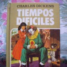 Tebeos: TIEMPOS DIFICILES CHARLES DICKENS HISTORIAS SELECCION Nº 9 SERIE MUJERCITAS BRUGUERA. Lote 139405066