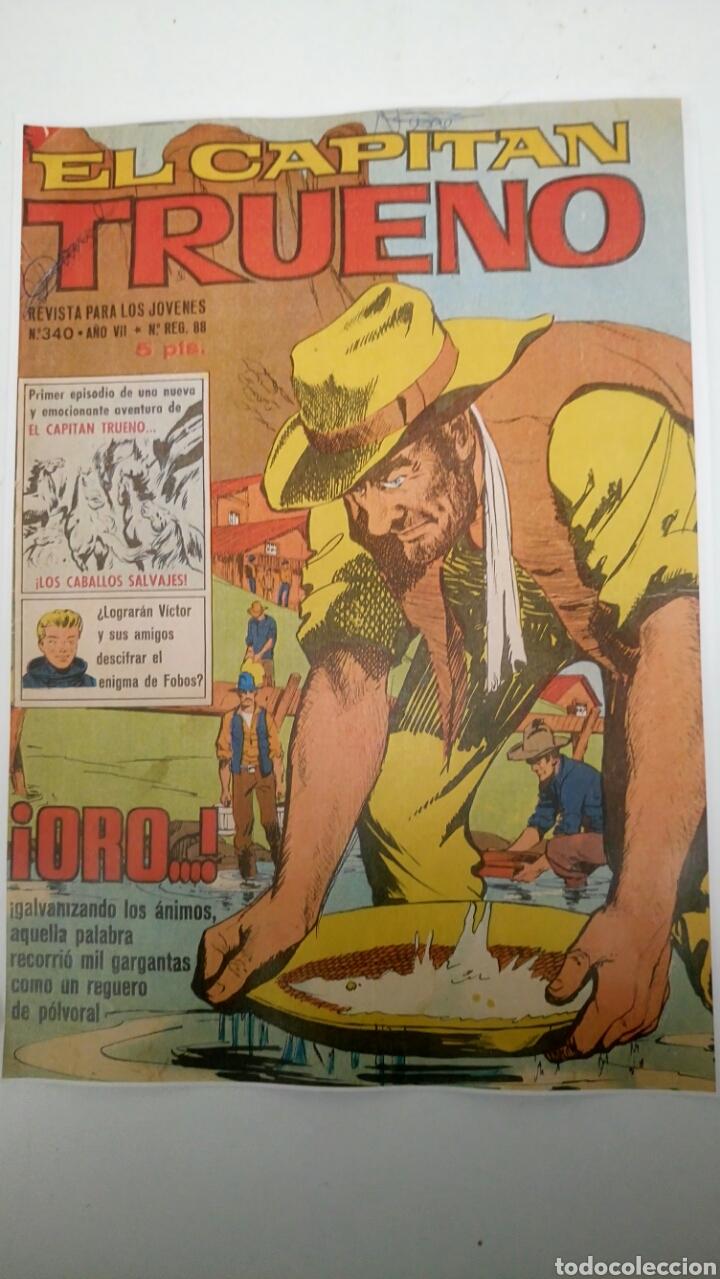 EL CAPITÁN TRUENO EXTRA 340 ORIGINAL DE BRUGUERA. PORTADA FOTOCOPIA. (Tebeos y Comics - Bruguera - Capitán Trueno)