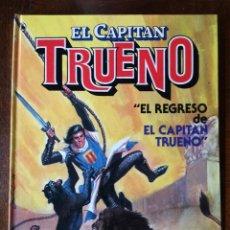 Tebeos: CAPITAN TRUENO Nº 1 EL REGRESO LIBRO TAPA DURA EXTRA BRUGUERA NUEVO 1986. Lote 139504942