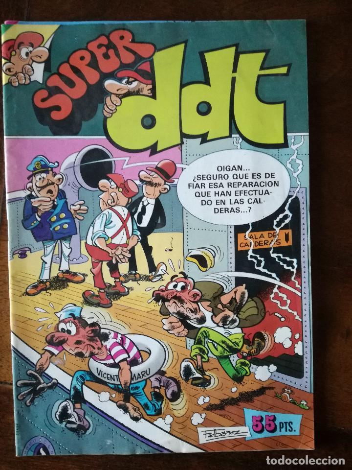SUPER DDT Nº 90 BRUGUERA 1981 AÑO XXX NUEVO (Tebeos y Comics - Bruguera - DDT)