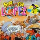 Tebeos: COMIC SUPER LÓPEZ AÑO 1 Nº 1 BRUGUERA CON DIBUJOS DE JAN 1985 NUEVO. Lote 159054525