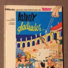 Tebeos: ASTERIX Y OBELIX, ASTERIX GLADIADOR, EDITORIAL BRUGUERA, PRIMERA EDICIÓN AÑO 1968. Lote 139556245