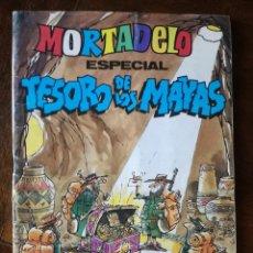Tebeos: MORTADELO ESPECIAL Nº 129 TESORO DE LOS MAYAS BRUGUERA 1983 NUEVO . Lote 139596858