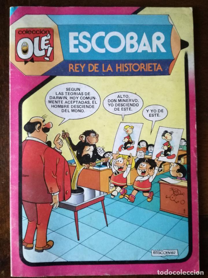 ESCOBAR OLÉ! 293 REY DE LA HISTORIETA NUEVO BRUGUERA 1984 (Tebeos y Comics - Bruguera - Ole)