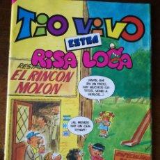 Tebeos: BRUGUERA TIO VIVO EXTRA NUMERO 89 RISA LOCA 1985 NUEVO. Lote 139599342