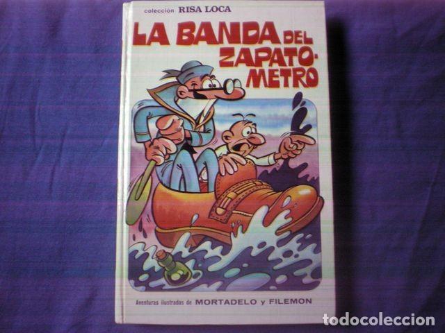 LIBRO COMIC LA BANDA DEL ZAPATOMETRO Nº 5 MORTADEL Y FILEMON 1º EDICION 1973 ED BRUGUERA (Tebeos y Comics - Bruguera - Mortadelo)