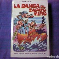 Tebeos: LIBRO COMIC LA BANDA DEL ZAPATOMETRO Nº 5 MORTADEL Y FILEMON 1º EDICION 1973 ED BRUGUERA. Lote 139621110