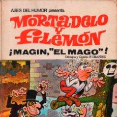 Tebeos: ASES DEL HUMOR Nº 12 MORTADELO Y FILEMON MAGIN EL MAGO.. Lote 139664054