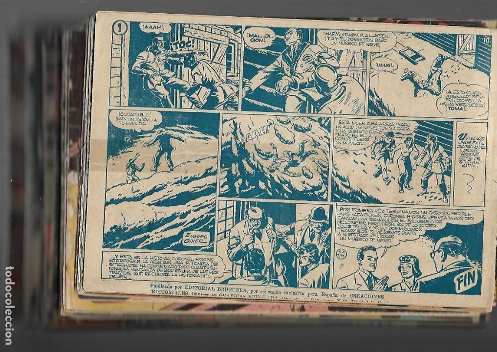 Tebeos: Inspector Dan, Año 1.951. Colección Completa son 72. Tebeos Originales Dibujos Eugenio Giner - Foto 2 - 139783642