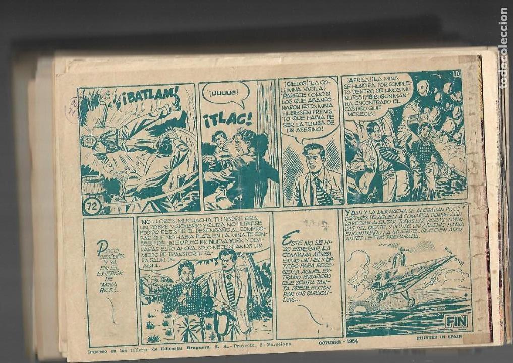 Tebeos: Inspector Dan, Año 1.951. Colección Completa son 72. Tebeos Originales Dibujos Eugenio Giner - Foto 16 - 139783642