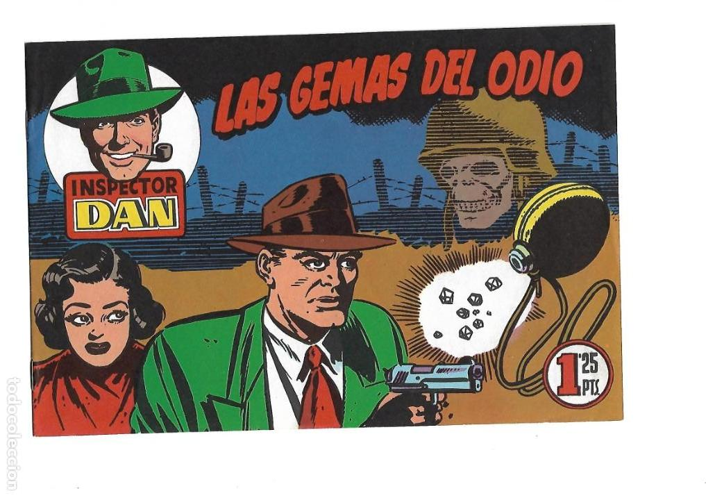 Tebeos: Inspector Dan, Año 1.951. Colección Completa son 72. Tebeos Originales Dibujos Eugenio Giner - Foto 5 - 139783642