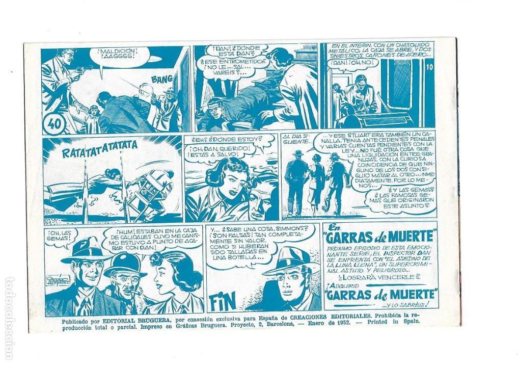 Tebeos: Inspector Dan, Año 1.951. Colección Completa son 72. Tebeos Originales Dibujos Eugenio Giner - Foto 6 - 139783642
