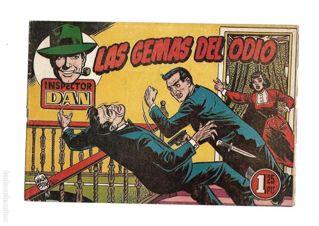 Tebeos: Inspector Dan, Año 1.951. Colección Completa son 72. Tebeos Originales Dibujos Eugenio Giner - Foto 3 - 139783642