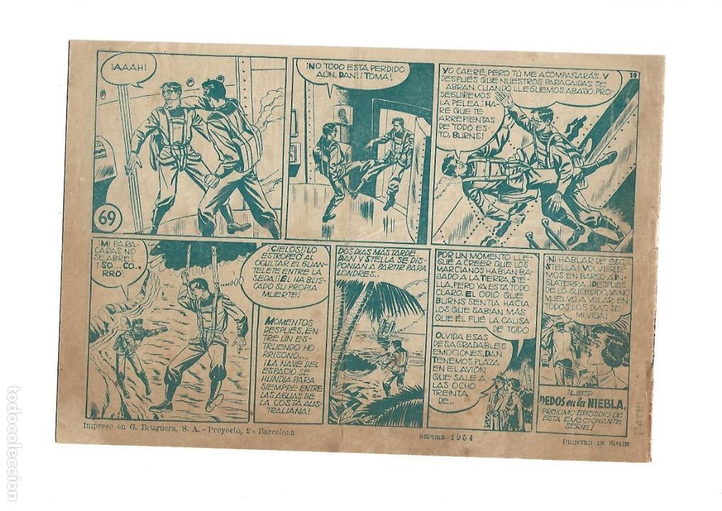 Tebeos: Inspector Dan, Año 1.951. Colección Completa son 72. Tebeos Originales Dibujos Eugenio Giner - Foto 10 - 139783642