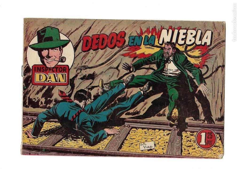 Tebeos: Inspector Dan, Año 1.951. Colección Completa son 72. Tebeos Originales Dibujos Eugenio Giner - Foto 11 - 139783642