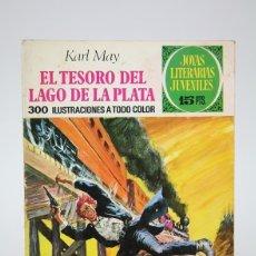 Tebeos: CÓMIC - EL TESORO DEL LAGO DE LA PLATA /JOYAS LITERARIAS JUVENILES -EDIT. BRUGUERA - 1972 2ª EDICIÓN. Lote 139812006