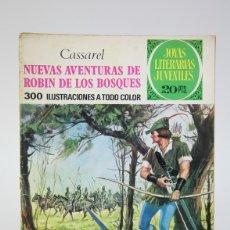 Tebeos: CÓMIC - AVENTURAS DE ROBIN DE LOS BOSQUES /JOYAS LITERARIAS - EDIT. BRUGUERA - 1974 1ª EDICIÓN. Lote 139812089